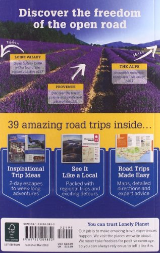 France's Best Trips 1 (Country Regional Guides)
