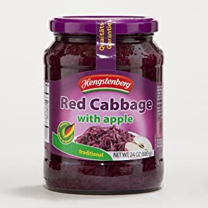 Hengstenberg Red Cabbage with Apples 24 oz(Pack of 12) by Hengstenberg