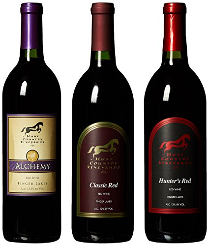"Hunt Country ""Favorite Reds"" Mixed Pack, 3 X 750 Ml"