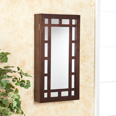 SEI Karah Wall Mount Jewelry Mirror