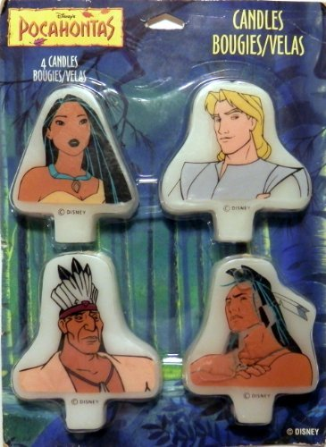 Disney Pocahontas Bougies/Velas Candles