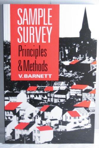 Sample Survey Principles and Methods, Barnett, Vic