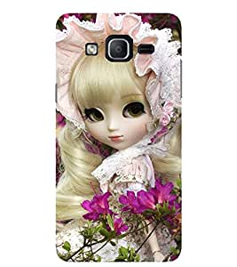 Evaluze attractive girl Printed Back Cover for SAMSUNG GALAXY ON5 2015