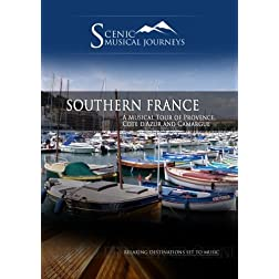 Naxos Scenic Musical Journeys Southern France A Musical Tour of Provence, Cote d'Azur and Camargue