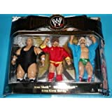 WWE Classic Iron Sheik - Nikolai Volkoff - King Kong Bundy 3 Pack Jakks Pacific