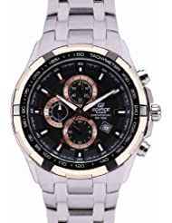 Casio Edifice Analog Black Dial Men's Watch - EF-539D-1A5VDF (ED368)