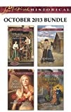 Love Inspired Historical October 2013 Bundle: A Family for Christmas\The Secret Princess\Taming the Texas Rancher\An Unlikely Union