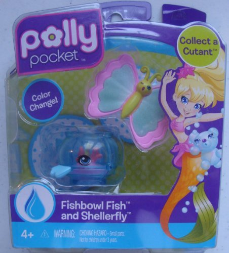 Polly Pocket Collect a Cutant Fishbowl Fish and Shellerfly - 1
