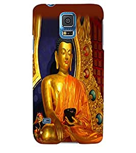 ColourCraft Lord Buddha Back Case Cover for SAMSUNG GALAXY S5 NEO