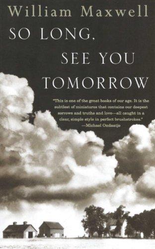 Image of So Long, See You Tomorrow