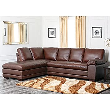 Porter Leather Sectional