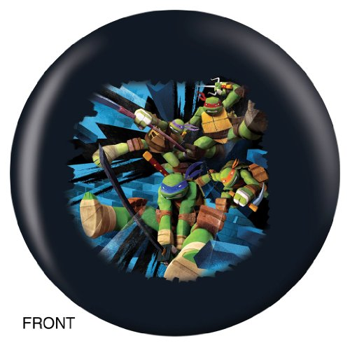 Teenage Mutant Ninja Turtles Bowling Ball- Leonardo (8lbs) (Ninja Bowling Ball compare prices)