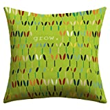 """DENY Designs Sharon Turner """"Grow 1"""" Outdoor Throw Pillow, 26 by 26-Inch"""