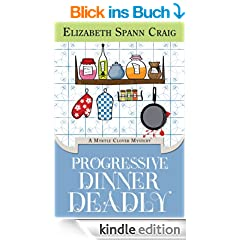 Progressive Dinner Deadly (A Myrtle Clover Mystery Book 2) (English Edition)