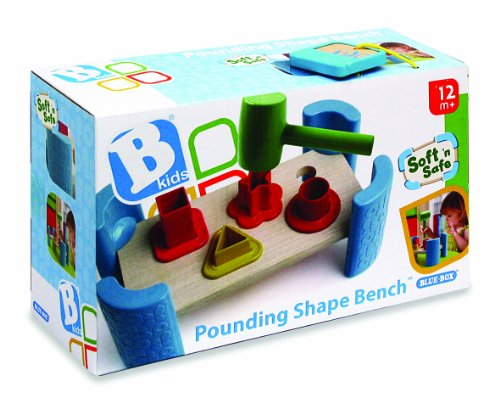 B kids Pounding Shape Bench - 1