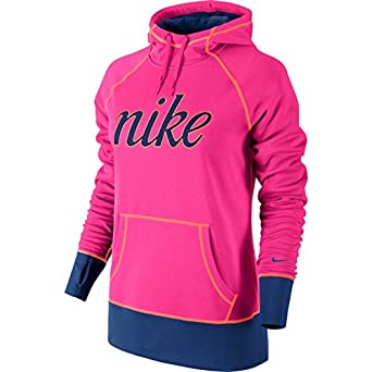 nike all time script graphic pullover women 39 s athletic shirt hoodie pink xl. Black Bedroom Furniture Sets. Home Design Ideas