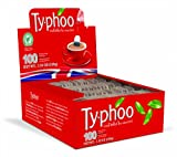 Typhoo 100 Teabags (Pack of 12, Total of 1200 Teabags)
