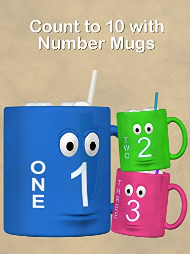Count to 10 with Number Mugs