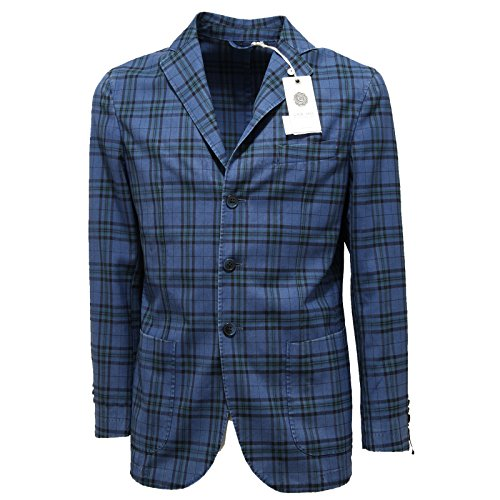 1275N giacca L.B.M. 1911 giacche uomo jacket coat men blu [48R]