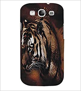 SAMSUNG GALAXY S3 TIGER Designer Back Cover Case By PRINTSWAG