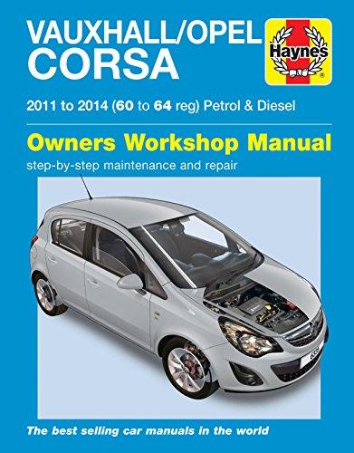 haynes-vauxhall-opel-corsa-2011-2014-60-64-petrol-diesel-manual