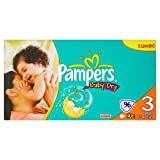 Pampers Baby-Dry Size 3 Midi Nappies - 2 x Jumbo Packs of 96, total 192 Nappies (Pack of 2)by Pampers