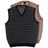 Merino Wool Fair Isle Sweater Vest