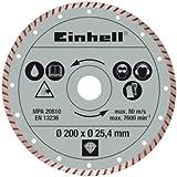 Einhell Dia.-Trennsch. 200x25,4mm tur. Radial-Fliesenschneidm-Zubehör