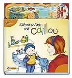 Zähne putzen mit Caillou: mit echter Caillou-Zahnbürste