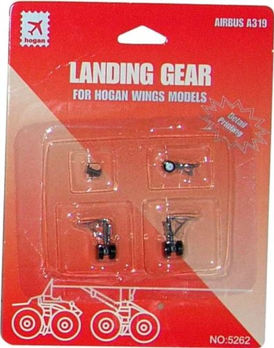 Daron Worldwide Trading HG5262 Hogan A319 Gear with Imprints 1/200