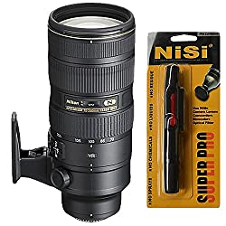 Nikon AF-S Nikkor 70-200mm f/2.8G ED VR II Telephoto Zoom Lens for Nikon Digital SLR Camera + Nisi Pro LensPen Lens Cleaner