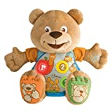 Chicco Bilingual Teddy Count With Me Plush