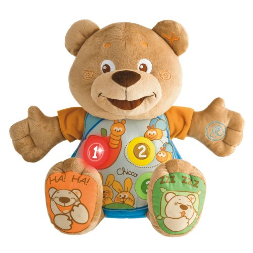 Chicco Count-With-Me Teddy Bear front-909736