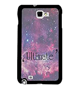Fuson Premium 2D Back Case Cover Ultimate With yellow Background Degined For Samsung Galaxy Note 2::Samsung Galaxy Note 2 N7100