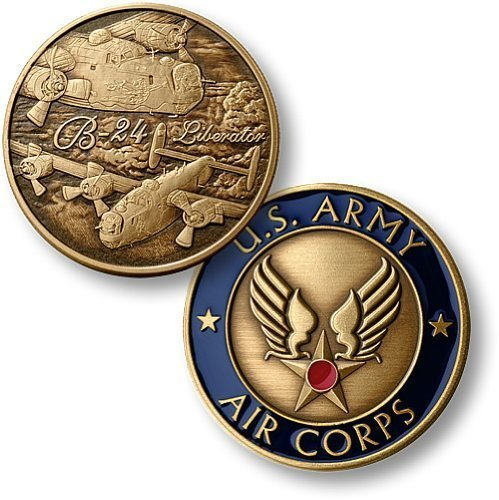 B-24 Army Air Corps Bronze Antique