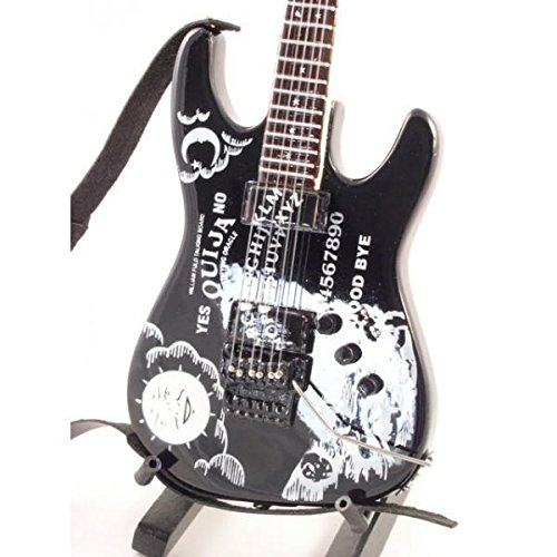 KIRK HAMMET - Replica ESP OUIJA - chitarra in miniatura exclusive