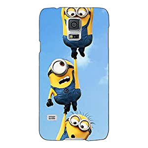 Jugaaduu Minions Back Cover Case For Samsung Galaxy S5
