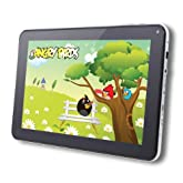 AGPtek® 9 inch Android 4.0 Capacitive Touch Screen Tablet PC for E-reading/3D Game/1080P HD (Black/White, Wi-Fi G-sensor, Front Camera, 1.2GHz, 512MB DDR3, 8GB Built-in Capacity)