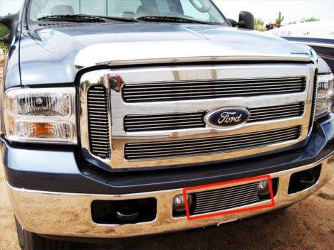 05 06 07 Ford F250 F350 F450 Super Duty Pickup Bumper Billet Grille Grill Insert (5356) (05 F250 Bumper compare prices)