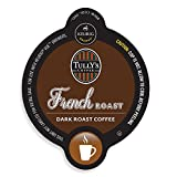 Tullys French Roast Coffee, Vue Cup Portion Pack for Keurig Vue Brewing Systems