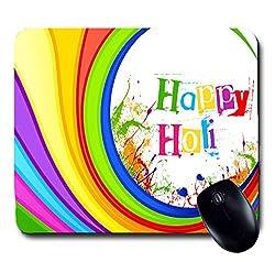 Awwsme Happy Holi - 9 Mousepad