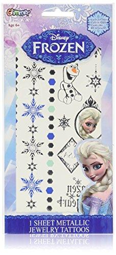 disney-frozen-elsa-metallic-jewelry-tatouage-temporaire-sheet
