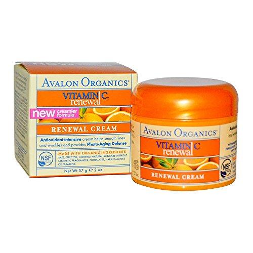 organics vitamin renewal facial creme