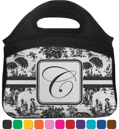 Toile Lunch Tote (Personalized) front-814223