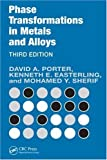 img - for Phase Transformations in Metals and Alloys, Third Edition (Revised Reprint) by Porter, David A. Published by CRC Press 3rd (third) edition (2009) Paperback book / textbook / text book