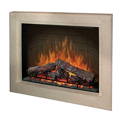 Dimplex 39 In. Stone Surround Built In Electric Fireplace Multicolor - Bf39Dxp-Bsstn