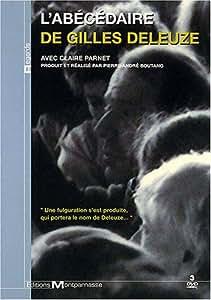 L'abécédaire de Gilles Deleuze - Coffret 3 DVD