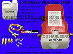 Insta Trim Universal Boating Trim Tab Motor Pump Marine