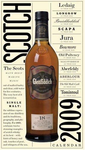 Scotch Wall Calendar 2009