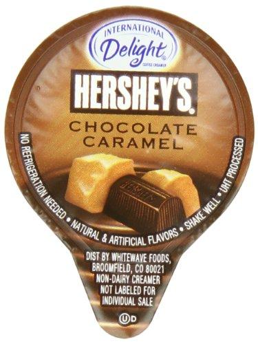 International Delight Hershey'S Mini'S Coffee Creamer, Chocolate Caramel, 24 Count (Pack Of 6)